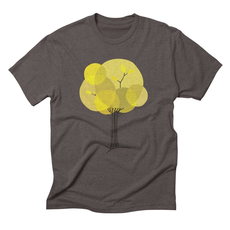 Autumn tree Men's Triblend T-Shirt by YANMOS