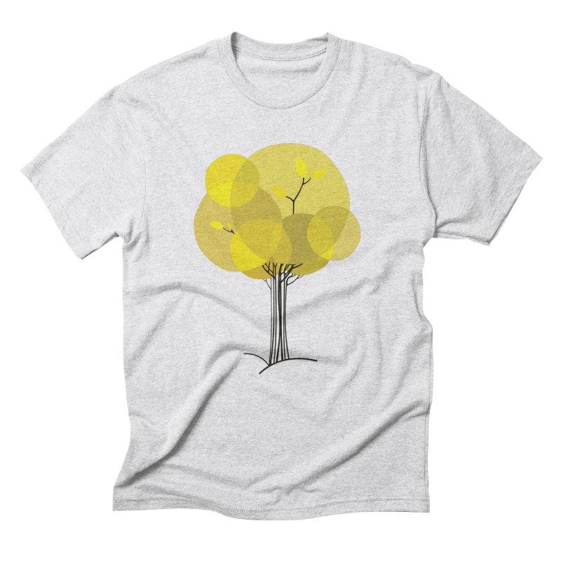 Autumn tree Men's Triblend T-Shirt by YANMOS
