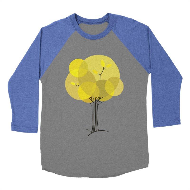 Autumn tree Women's Baseball Triblend Longsleeve T-Shirt by YANMOS