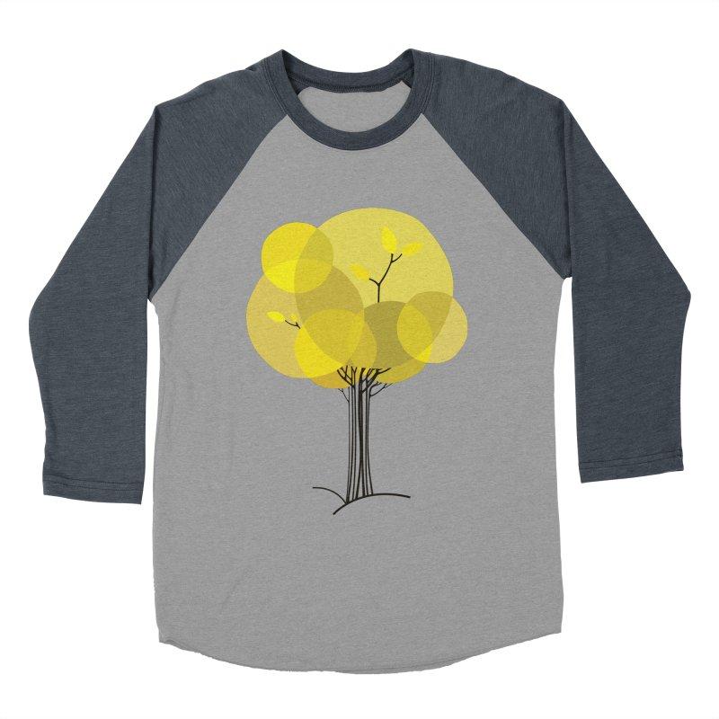 Autumn tree Women's Baseball Triblend T-Shirt by YANMOS