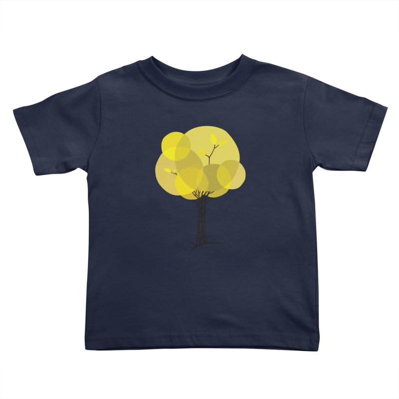 Autumn tree Kids Toddler T-Shirt by YANMOS