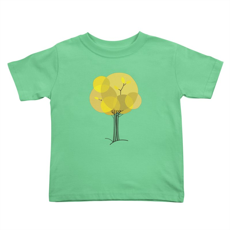 Autumn tree Kids Toddler T-Shirt by YANMOS