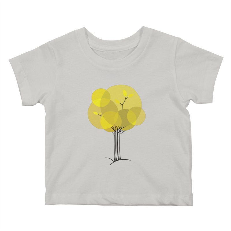 Autumn tree Kids Baby T-Shirt by YANMOS