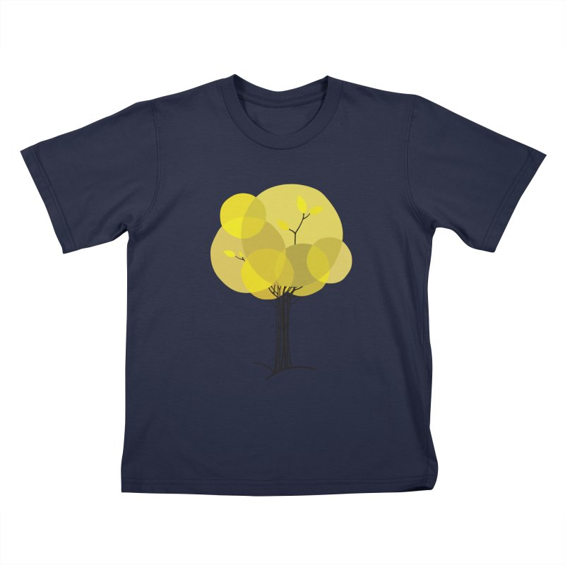 Autumn tree Kids T-Shirt by YANMOS