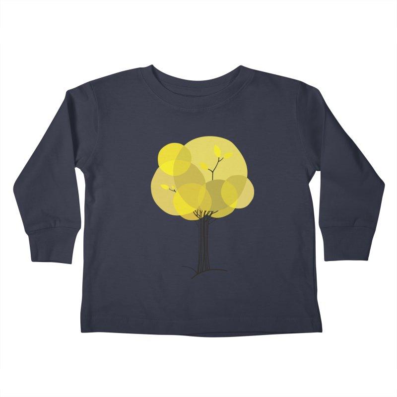 Autumn tree Kids Toddler Longsleeve T-Shirt by YANMOS
