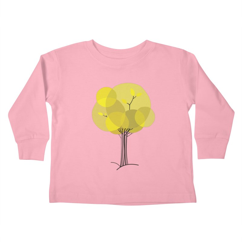 Autumn tree Kids Toddler Longsleeve T-Shirt by YANMOS