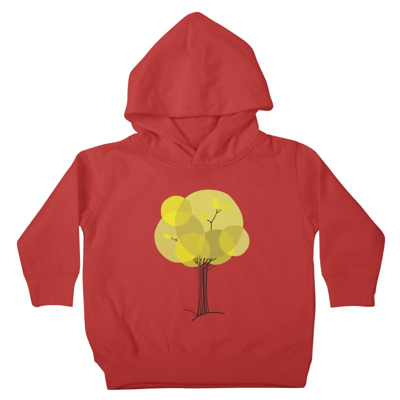 Autumn tree Kids Toddler Pullover Hoody by YANMOS
