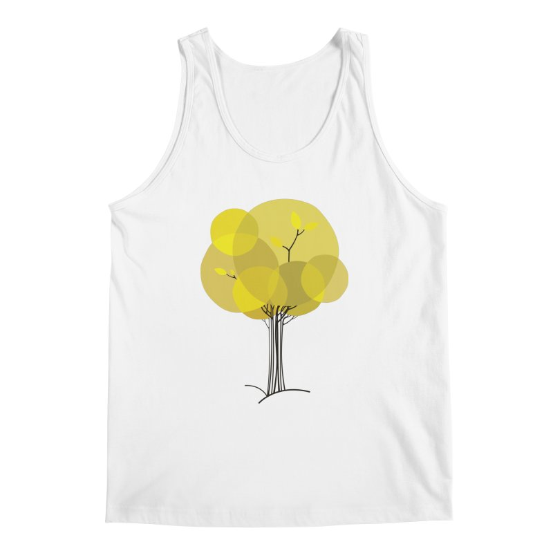 Autumn tree Men's Regular Tank by YANMOS