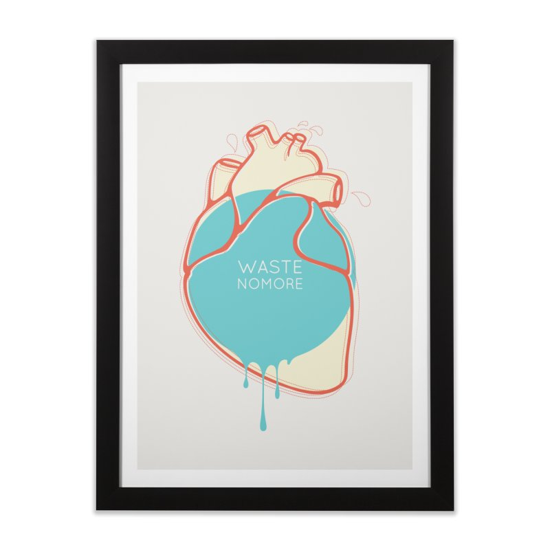 Waste No More Home Framed Fine Art Print by YANMOS