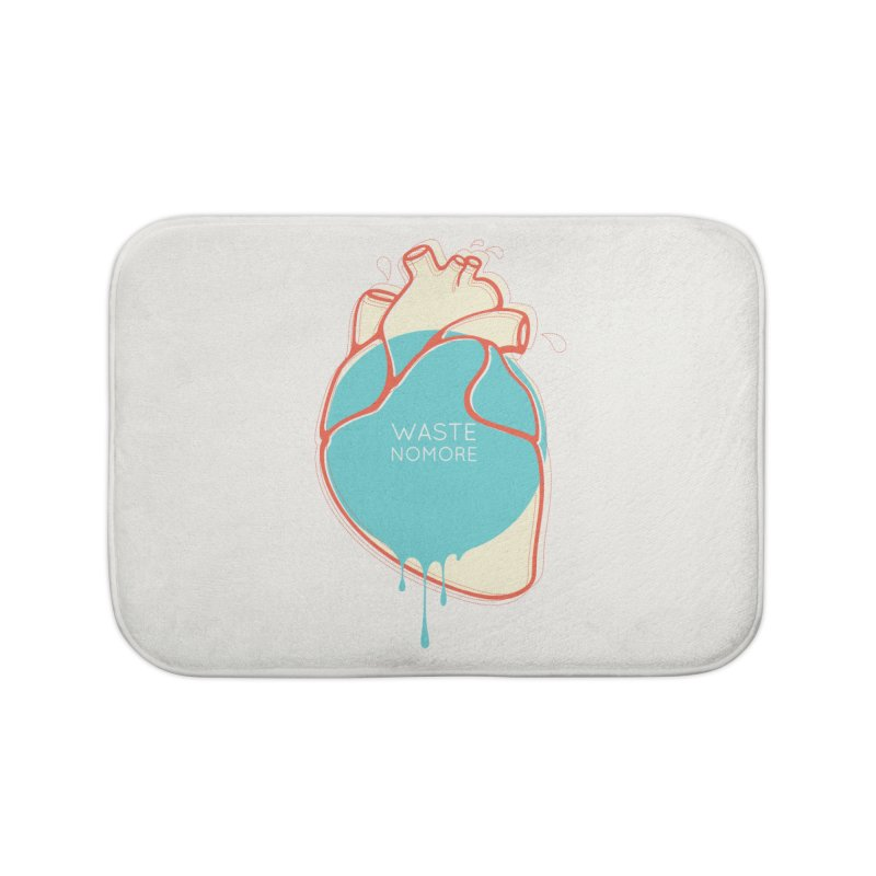 Waste No More Home Bath Mat by YANMOS