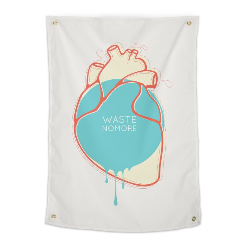 Waste No More Home Tapestry by YANMOS