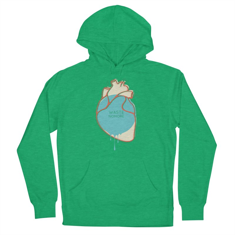 Waste No More Men's Pullover Hoody by YANMOS