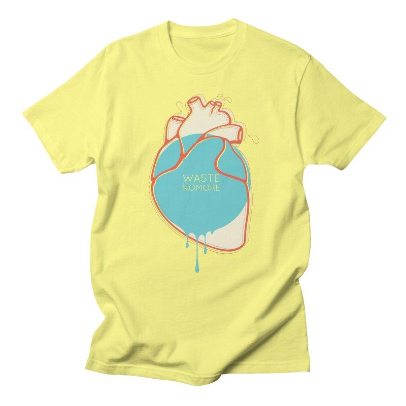 Waste No More Men's Regular T-Shirt by YANMOS