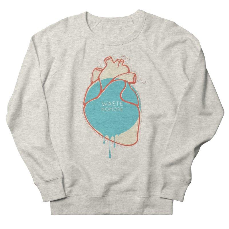 Waste No More Men's Sweatshirt by YANMOS