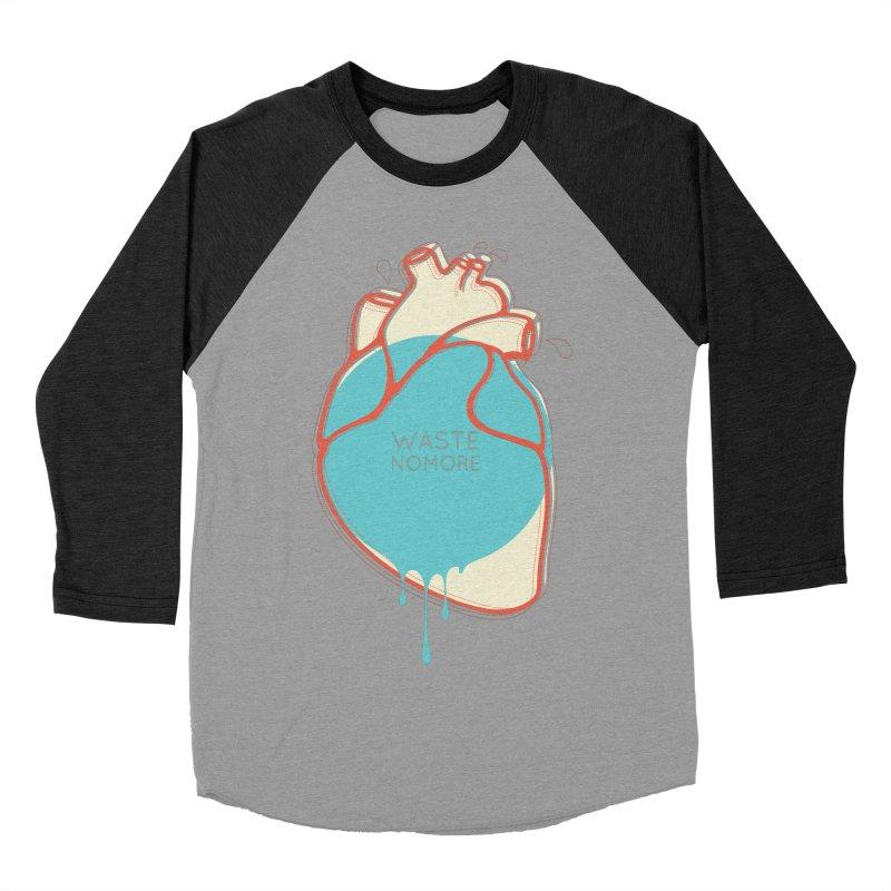 Waste No More Women's Baseball Triblend T-Shirt by YANMOS