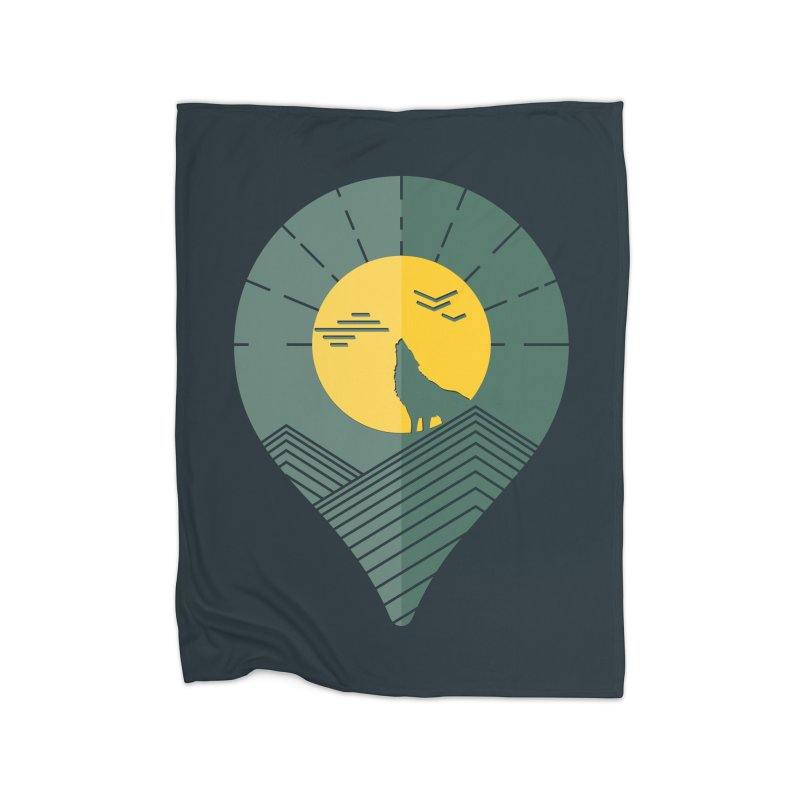 Adventure Home Blanket by YANMOS