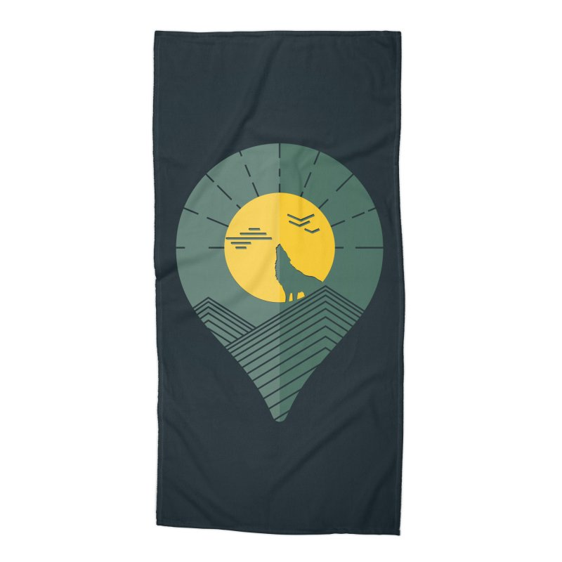 Adventure Accessories Beach Towel by YANMOS