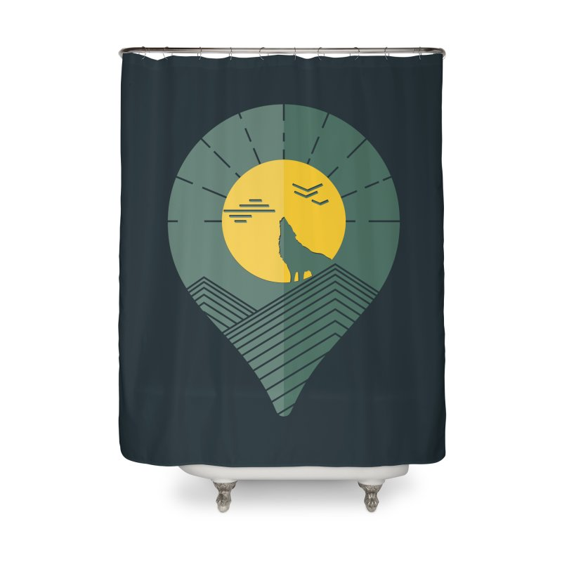 Adventure Home Shower Curtain by YANMOS