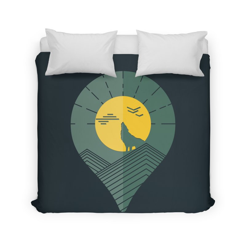 Adventure Home Duvet by YANMOS