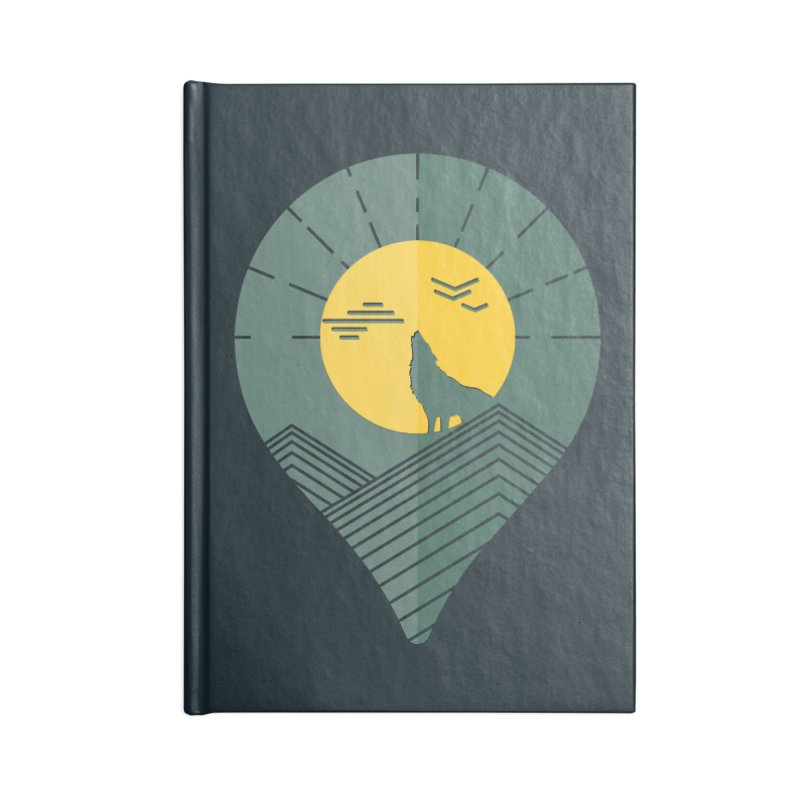 Adventure Accessories Notebook by YANMOS