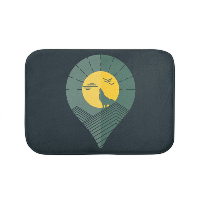 Adventure Home Bath Mat by YANMOS