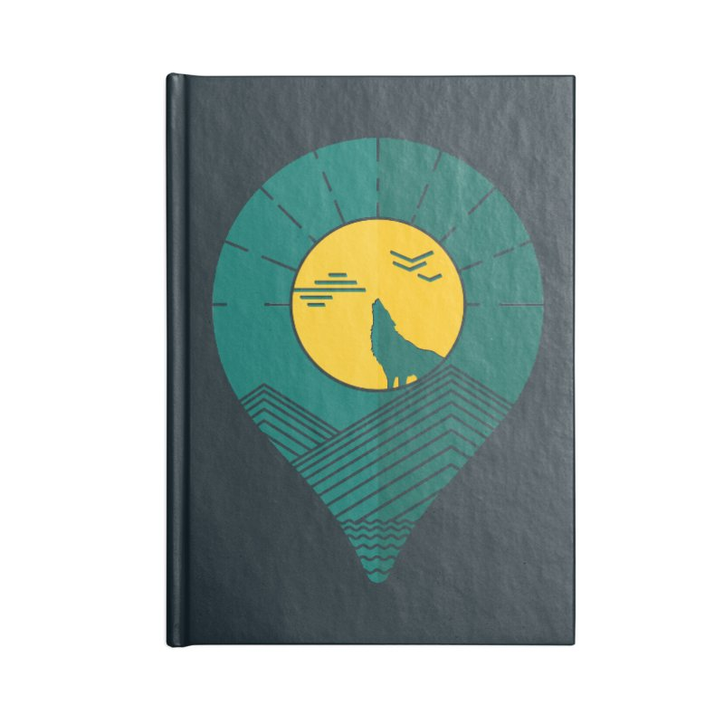 Adventure Accessories Blank Journal Notebook by YANMOS