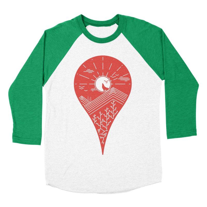Adventure Men's Baseball Triblend T-Shirt by YANMOS