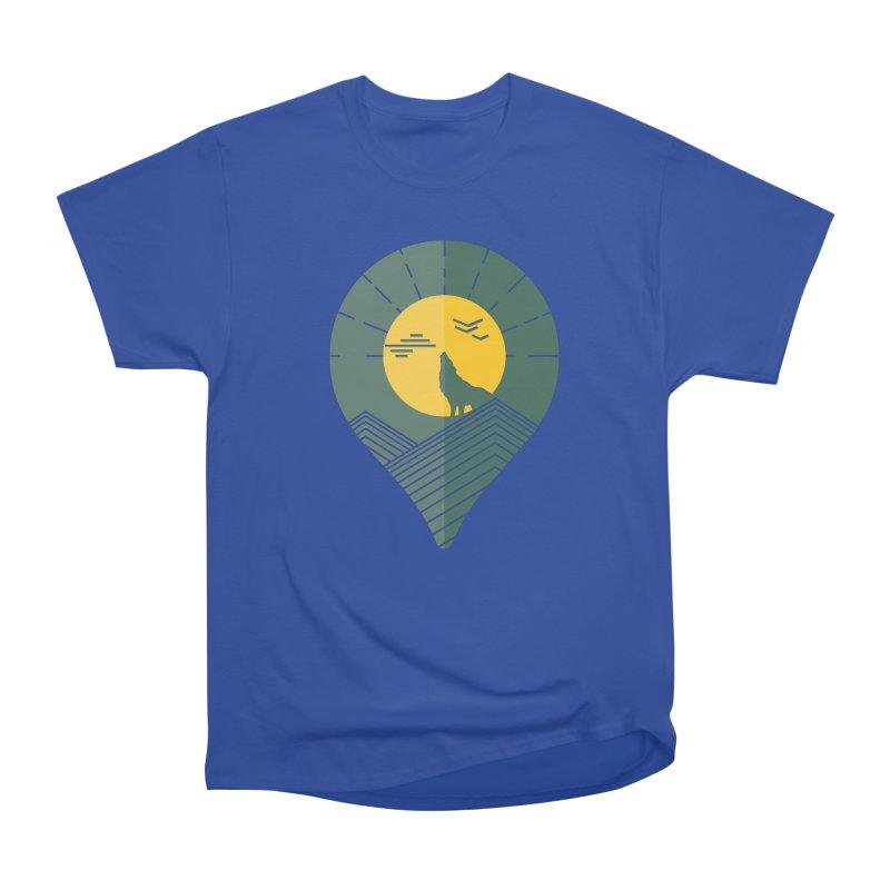 Adventure Men's Heavyweight T-Shirt by YANMOS