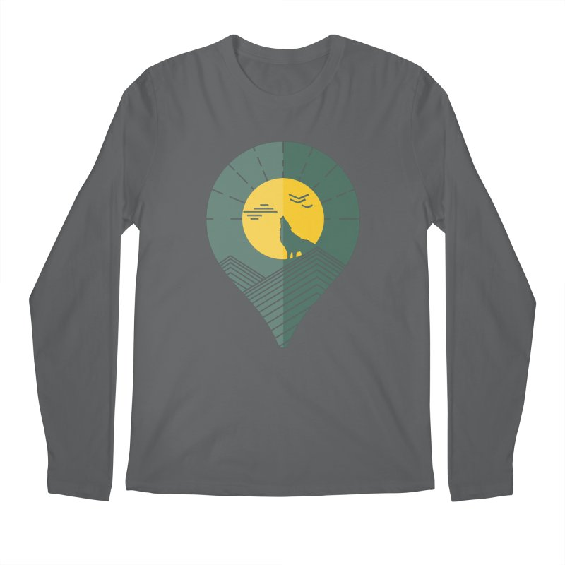 Adventure Men's Longsleeve T-Shirt by YANMOS