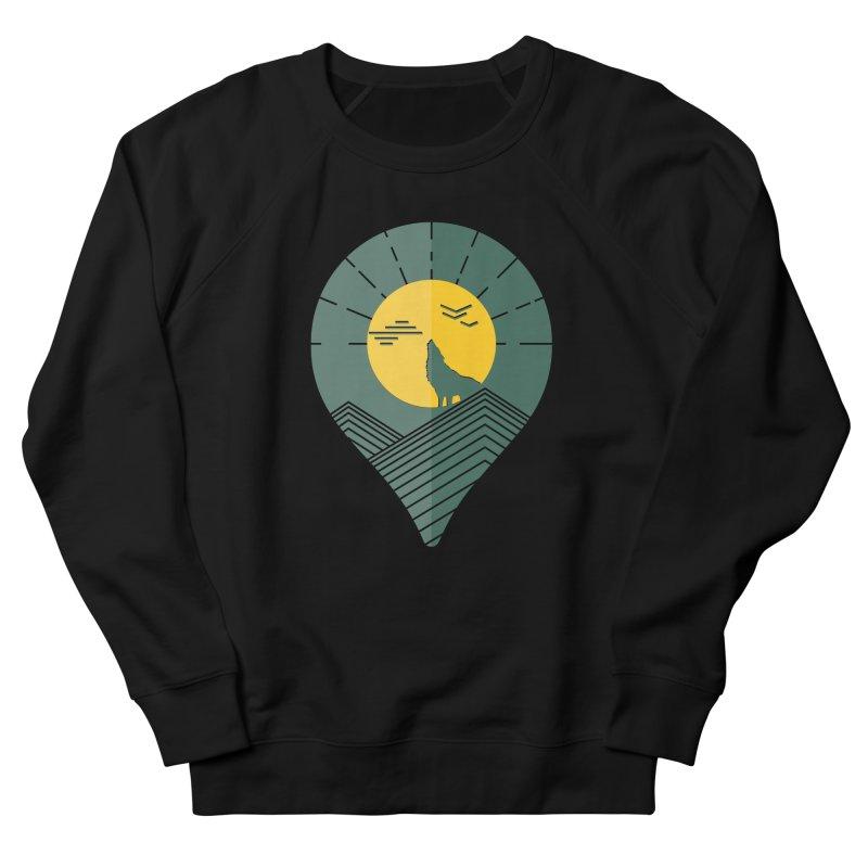 Adventure Men's French Terry Sweatshirt by YANMOS