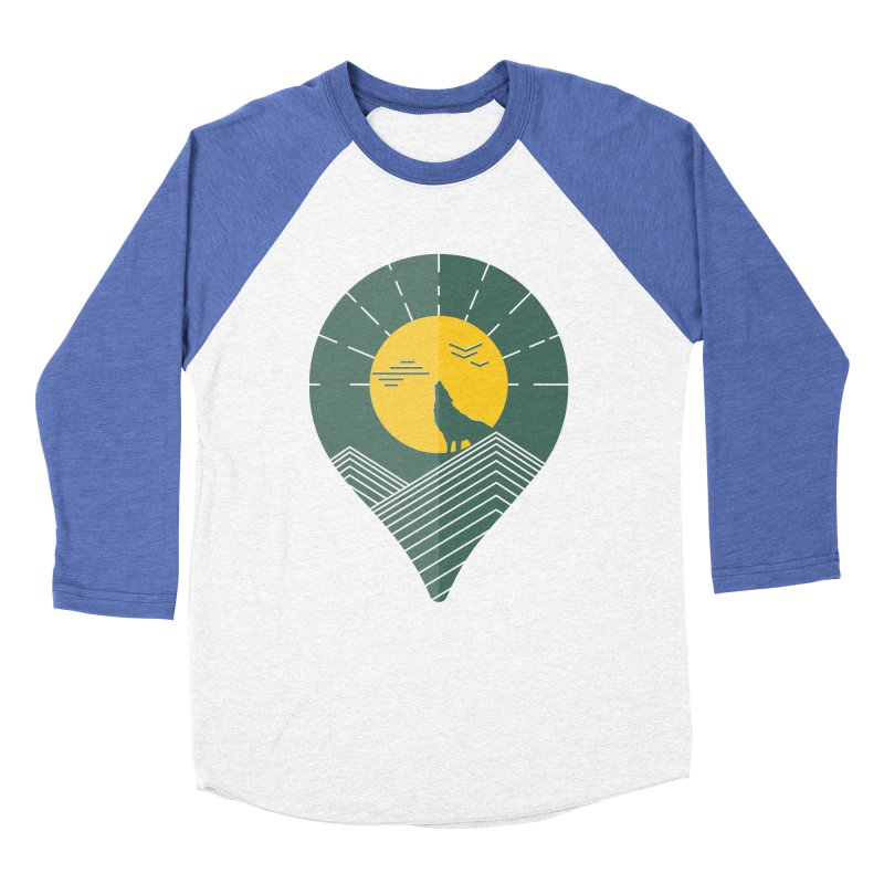 Adventure Women's Baseball Triblend Longsleeve T-Shirt by YANMOS