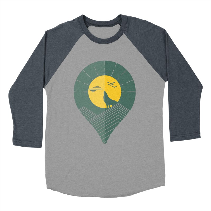 Adventure Women's Baseball Triblend T-Shirt by YANMOS