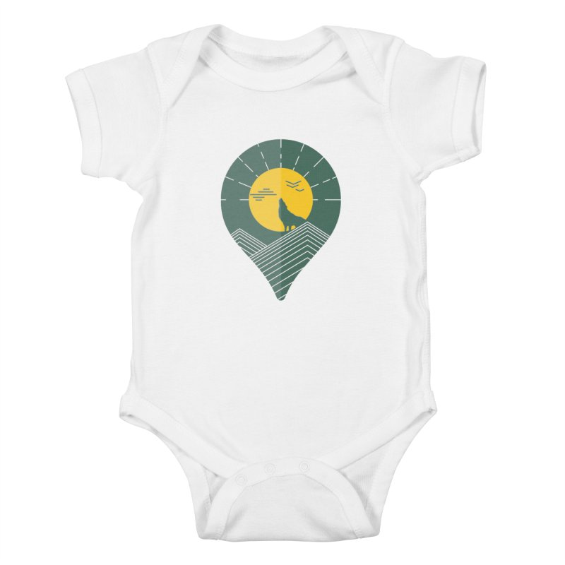 Adventure Kids Baby Bodysuit by YANMOS