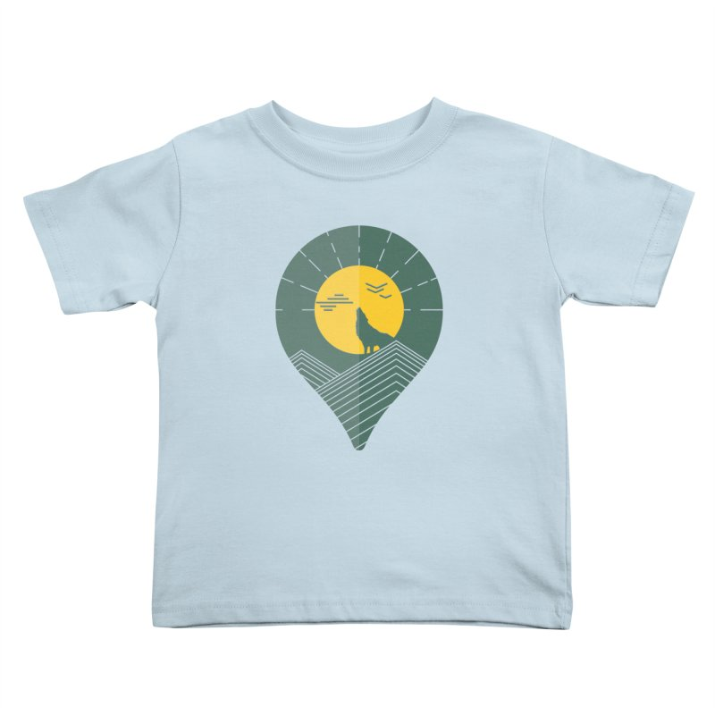 Adventure Kids Toddler T-Shirt by YANMOS
