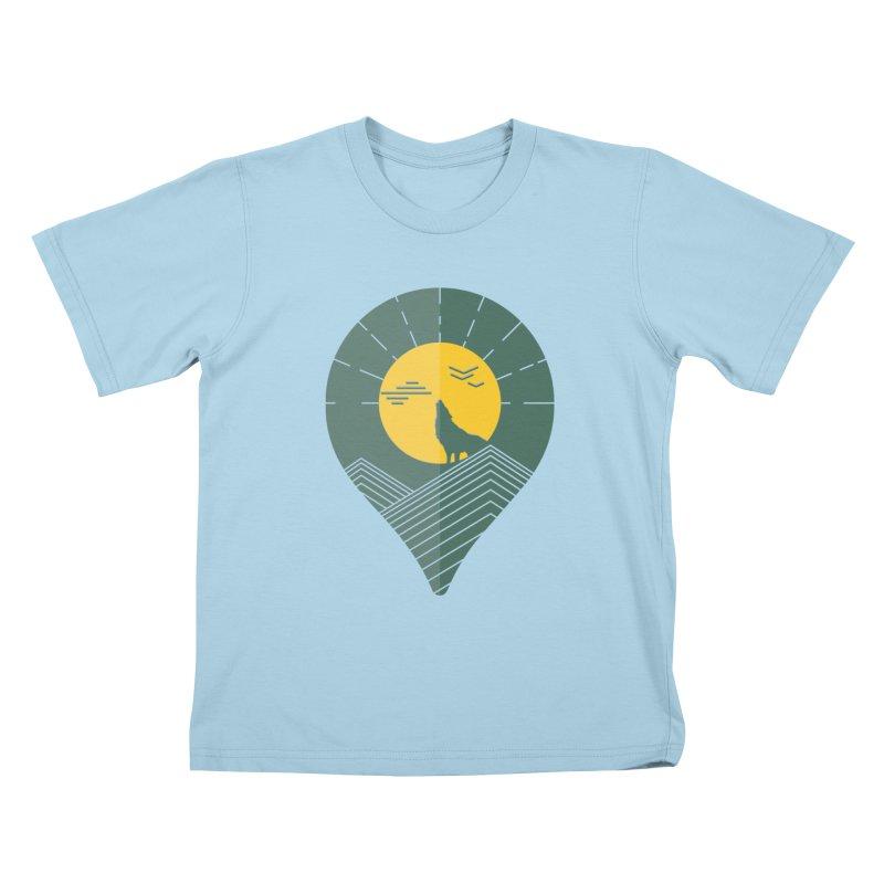 Adventure Kids T-Shirt by YANMOS