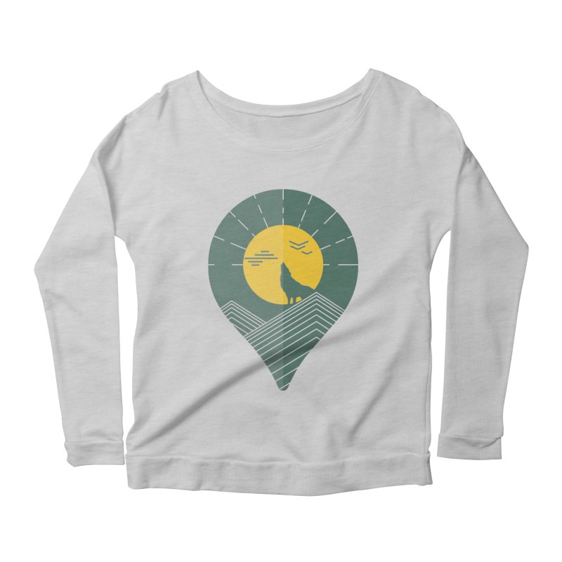 Adventure Women's Scoop Neck Longsleeve T-Shirt by YANMOS