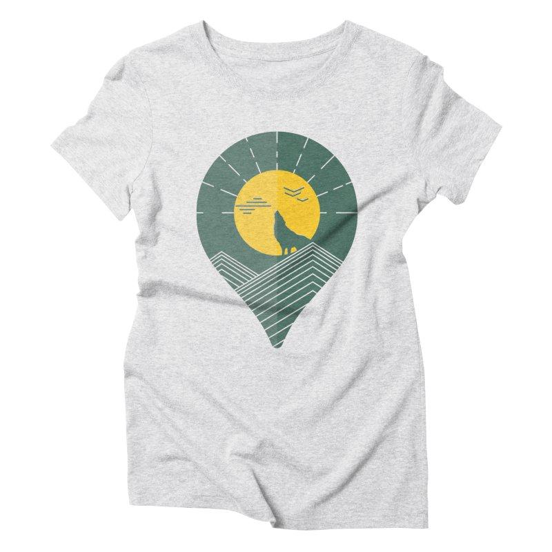 Adventure Women's Triblend T-Shirt by YANMOS