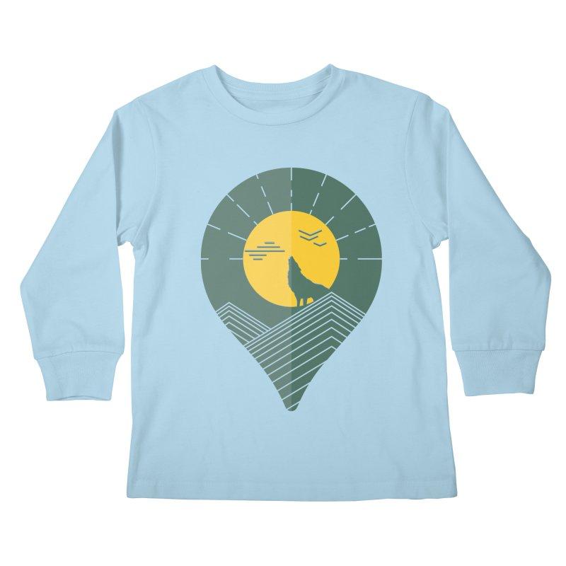 Adventure Kids Longsleeve T-Shirt by YANMOS