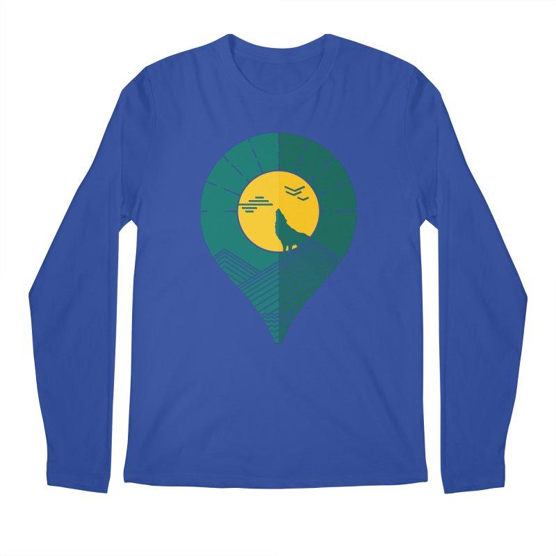 Adventure Men's Regular Longsleeve T-Shirt by YANMOS
