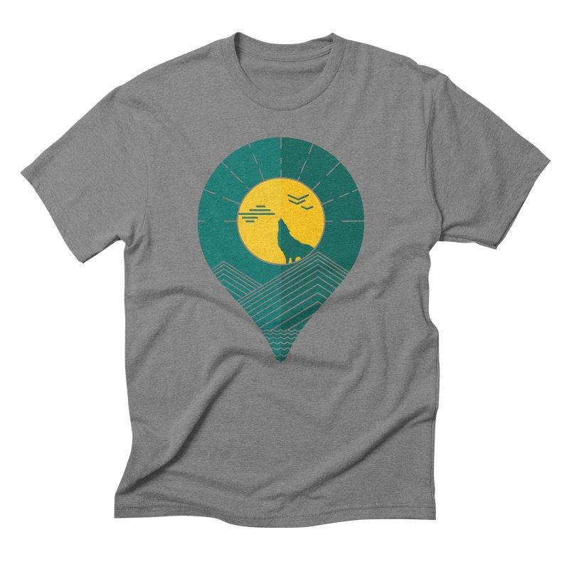 Adventure Men's Triblend T-Shirt by YANMOS