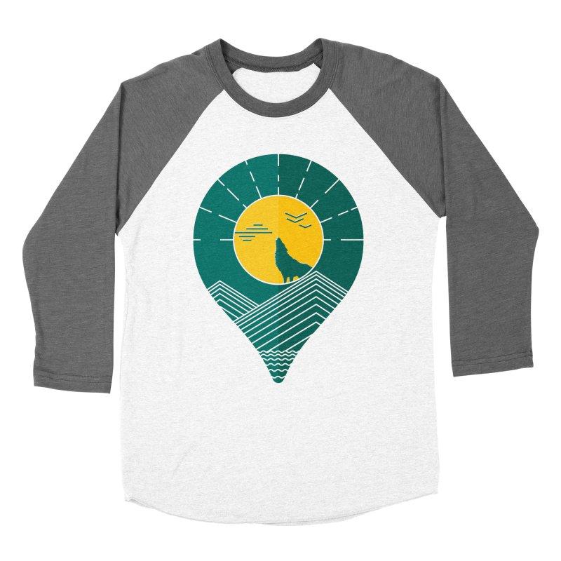 Adventure Men's Baseball Triblend Longsleeve T-Shirt by YANMOS