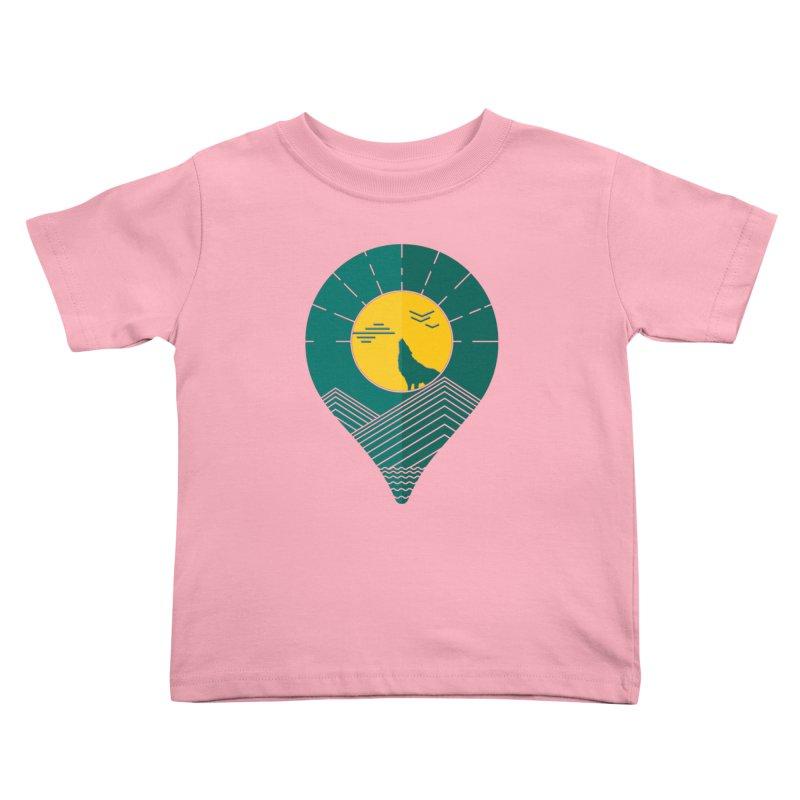Adventure Kids Toddler T-Shirt by YANMOS