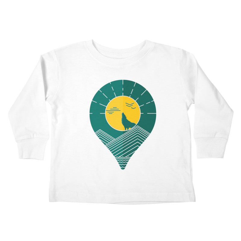 Adventure Kids Toddler Longsleeve T-Shirt by YANMOS