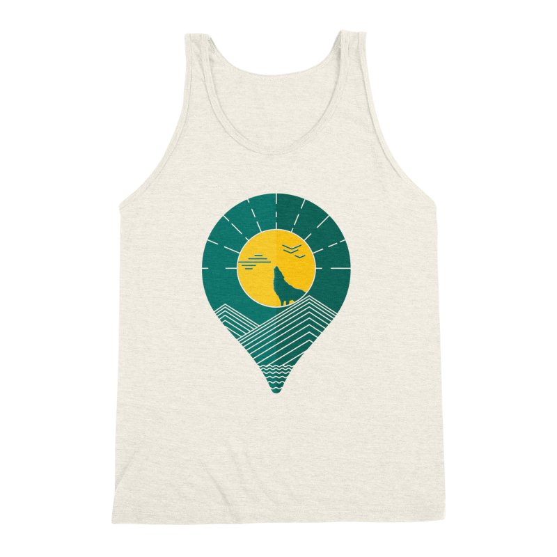 Adventure Men's Triblend Tank by YANMOS