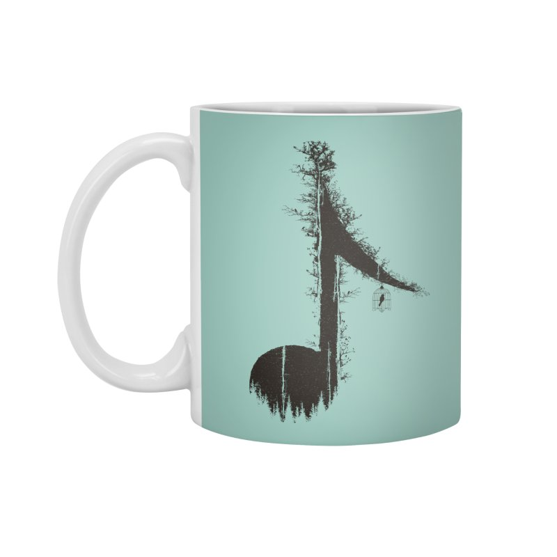 Nature has music for those who listen Accessories Standard Mug by YANMOS