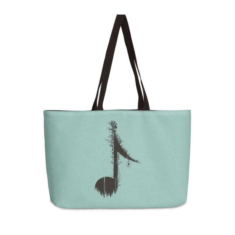 Nature has music for those who listen Accessories Bag by YANMOS