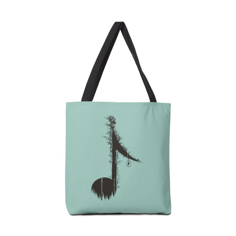 Nature has music for those who listen Accessories Tote Bag Bag by YANMOS