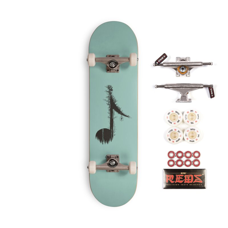 Nature has music for those who listen Accessories Complete - Pro Skateboard by YANMOS