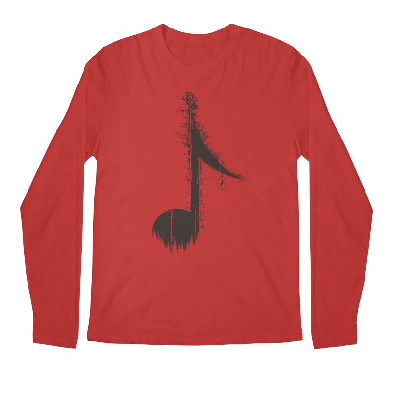 Nature has music for those who listen Men's Longsleeve T-Shirt by YANMOS