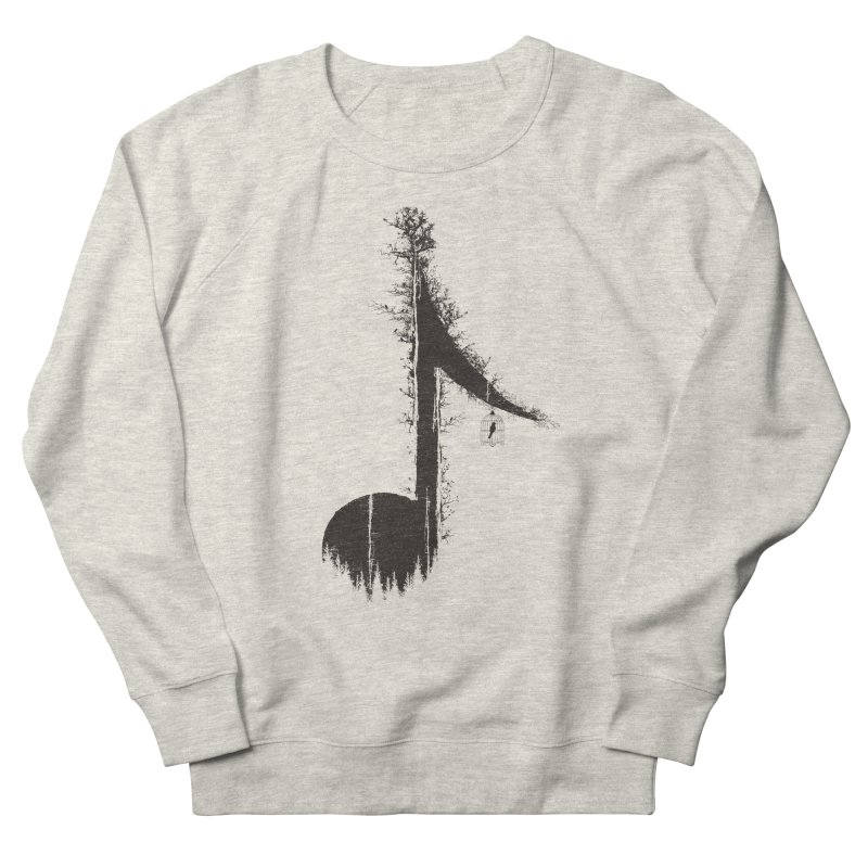Nature has music for those who listen Men's Sweatshirt by YANMOS